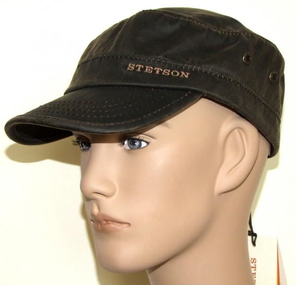 Stetson Datto Lined CO/PES Cap