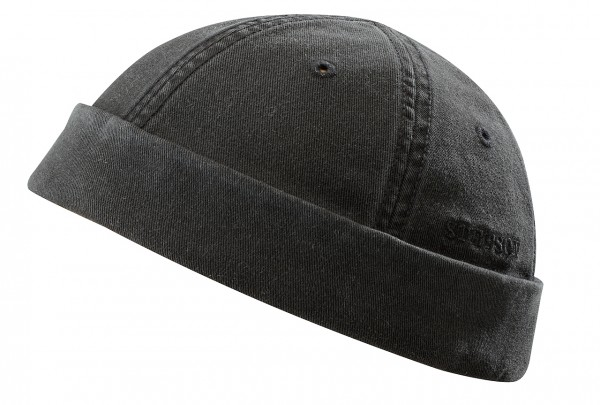 Stetson Ocala Dockercap schwarz