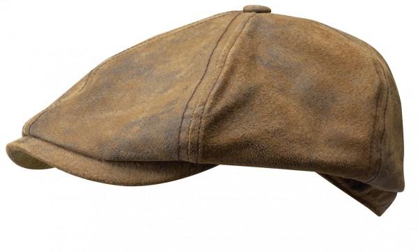 Stetson Lanesboro Ledermütze Ballonmütze antik