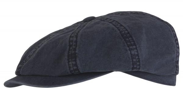 Stetson Hatteras Organic Cotton mit UV-Schutz dunkelblau