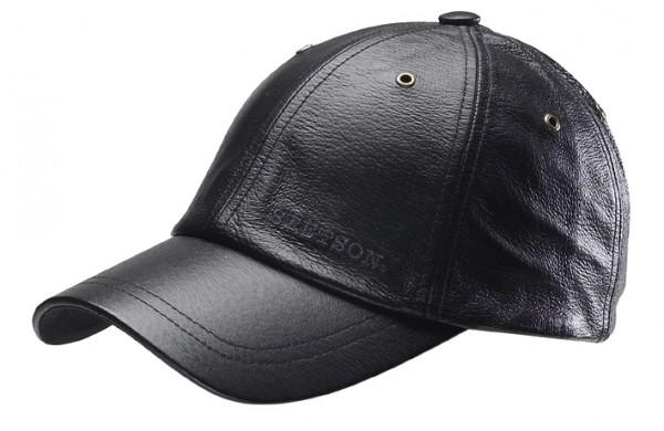 Joes Leder Cap schwarz von Stetson