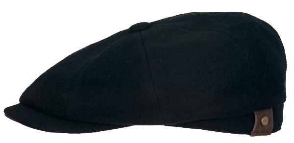Hatteras schwarz Ballonmütze von Stetson