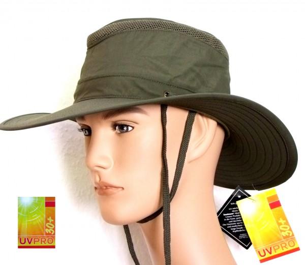 leichter Trekkinghut Wanderhut Faustmann mit Sonnenschutz