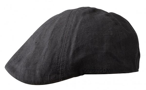 Putnam Leinenmütze schwarz Stetson mit UV-Schutz-Copy