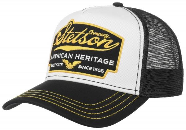 Stetson Trucker Cap American Heritage schwarz