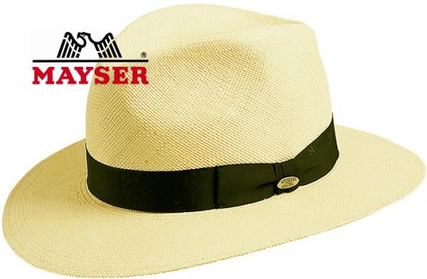 Mayser Panamahut Menton Strohhut mit UV Schutz Sommer