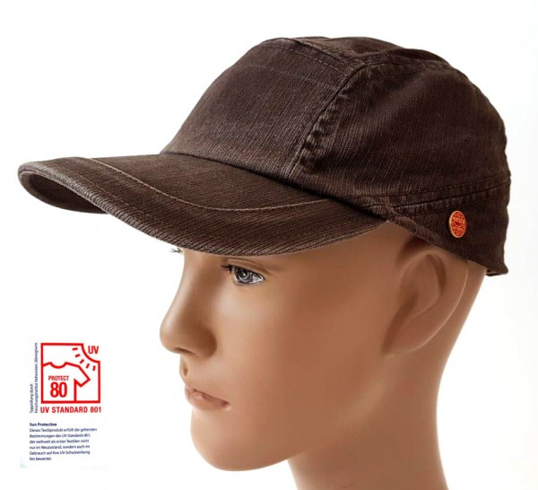 Mayser Speedy Basecap UV Schutz 80 braun