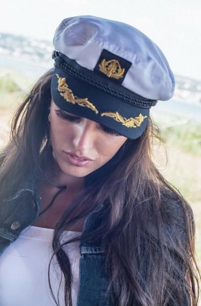 weiße Schiffermütze Kapitänsmütze Balke fashion
