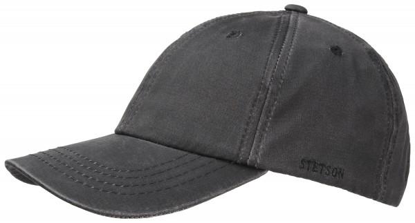 Stetson Statesboro schwarz Basecap Vintage UV 40+