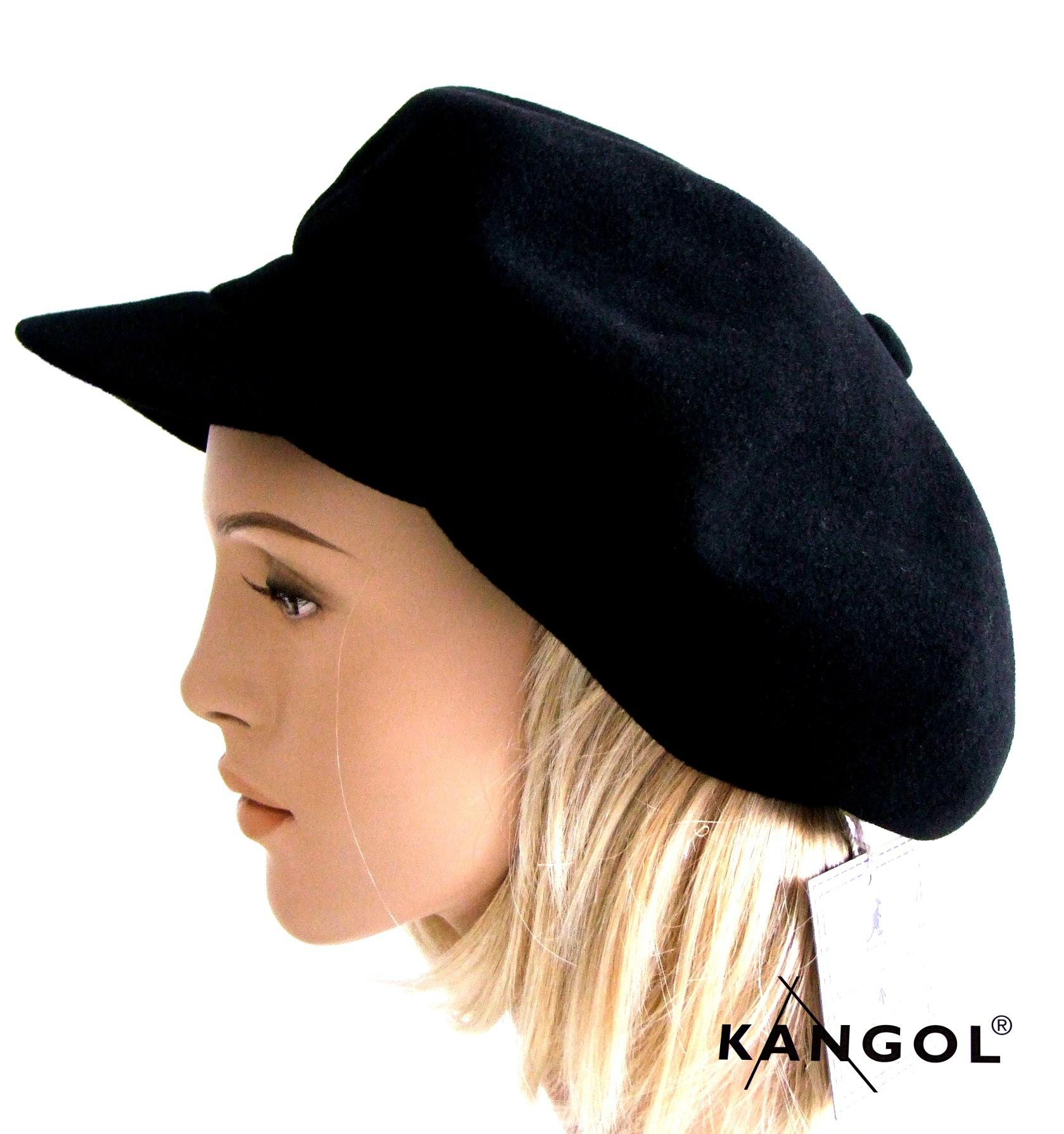 Schwarze Cap Damen