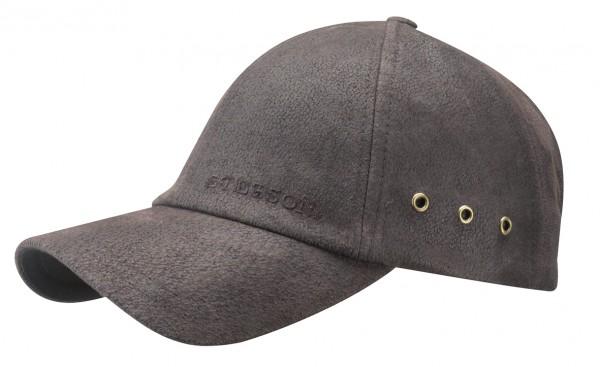 Stetson Liberty Pigskin Basecap braun