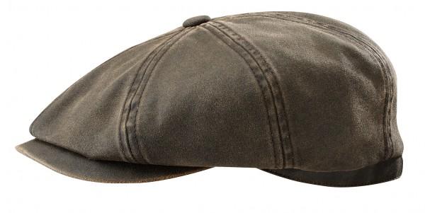 Stetson Hatteras CO/PE Oldtimermütze braun USED LOOK